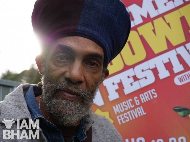 Iqulah Rasftafari at Simmer Down Festival 2018