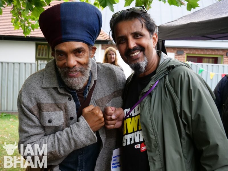 Iqulah Rastafari and Mukhtar Dar at Simmer Down Festival 2018 in Birmingham