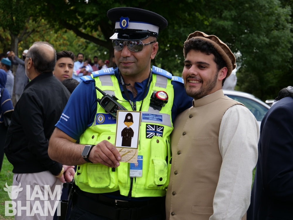Eid celebrations in Birmingham park cancelled due to adverse weather conditions