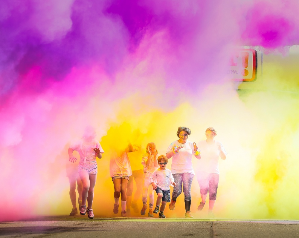 "Royal Air Force plans ""Colour Chaos"" in West Midlands fundraiser"