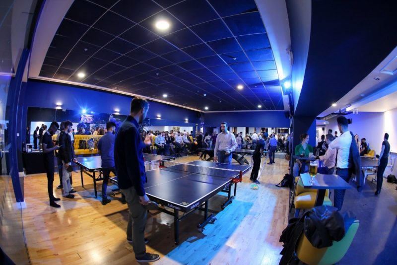 Serve brings together food, drink and ping pong