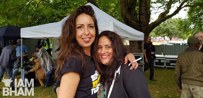 Aysha Z. Khan and friend