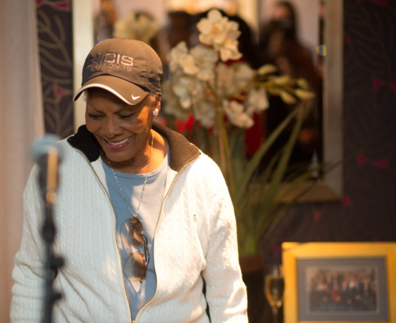 International music star Dionne Warwick at a private launch of Birmingham Black History Month 2018