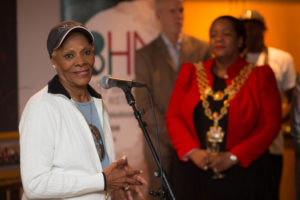 Dionne Warwick backs Birmingham Black History Month during special visit to city