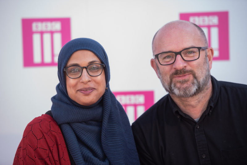 BBC Three Day Commissioning Editor Nasfim Haque and Controller BBC Three Damian Kavanagh