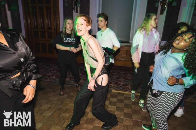 Festival of Audacity Birmingham Council House Rave by Paul Stringer