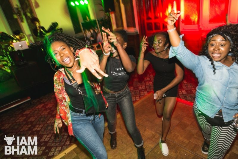 The first-ever late night rave was held in the Birmingham Council House's banqueting suite