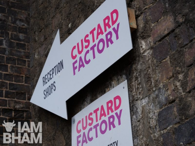 The Custard Factory and surrounding Digbeth is a hive for creative freestyle art and music