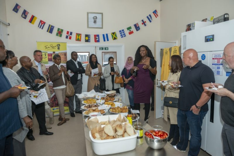Lee from Tan Rosie shares a speech about the new Caribbean cookery school