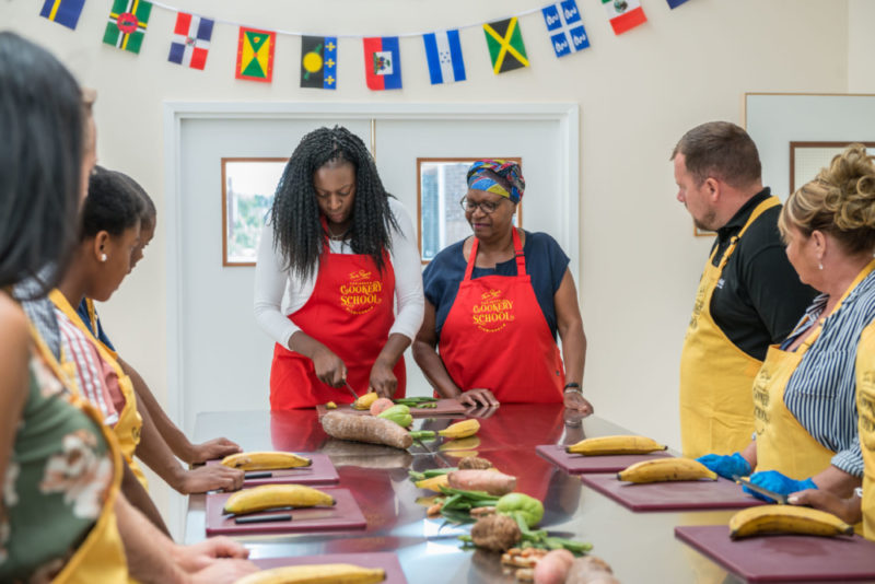 The Cookery School comes after a successful eight years in business with Lee and Monica managing Tan Rosie