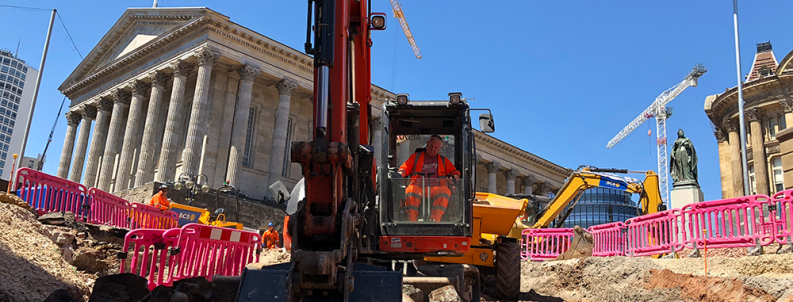 This stage of the works will see the Metro line constructed from Victoria Square to Centenary Square