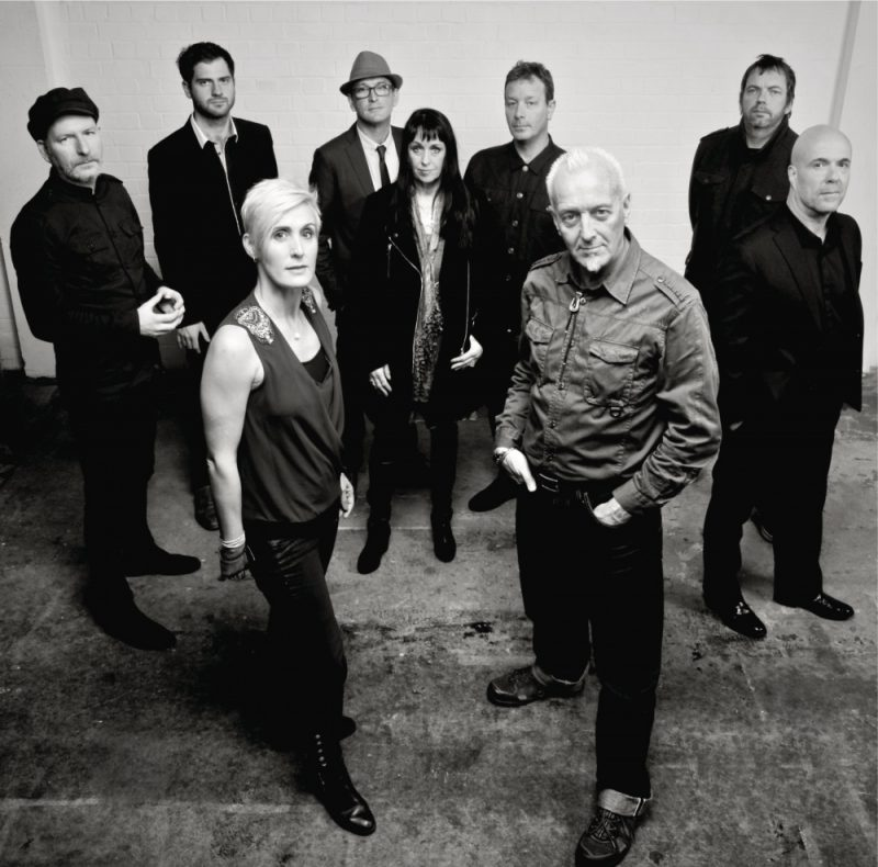 The South are Alison Wheeler (Vocals), Gaz Birtles (Vocals), Phil Barton (Guitars), Steve Nutter (Bass), Dave Anderson (Drums), Karl Brown (Percussion), Gareth John (Trumpet), Su Robinson (Sax), Andy Price (Keys)