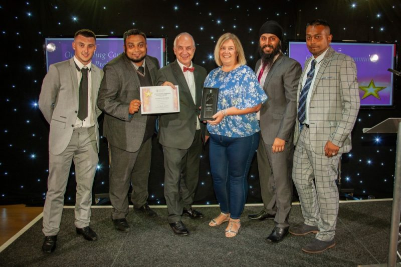 West Midlands Police and Crime Commissioner David Jamieson with Academy de Skillz