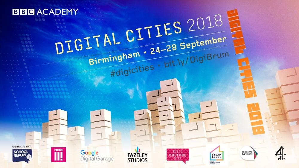 BBC Digital Cities is back in Birmingham for multimedia skills showcase