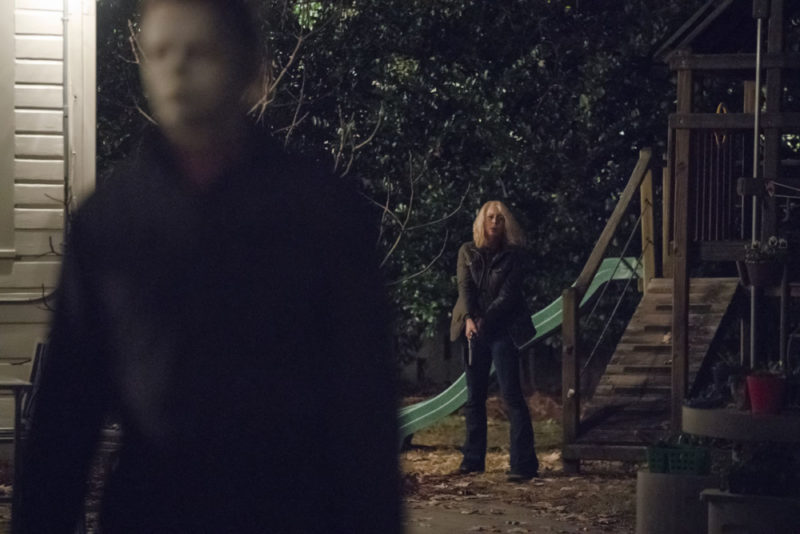 Laurie Strode is older and wiser as she takes on the return of Michael Myers