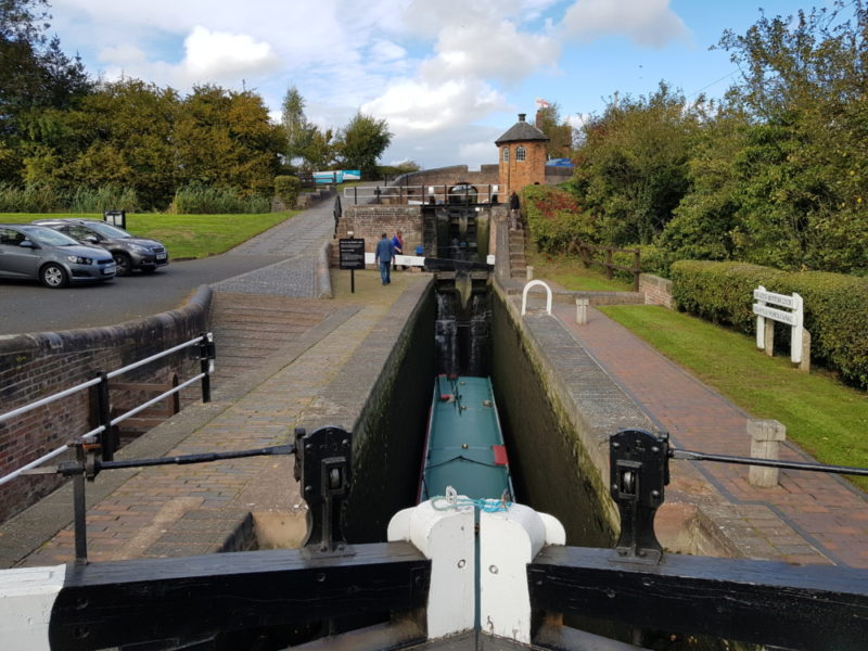 Bratch Lock is along the Staffordshire and Worcester canal path