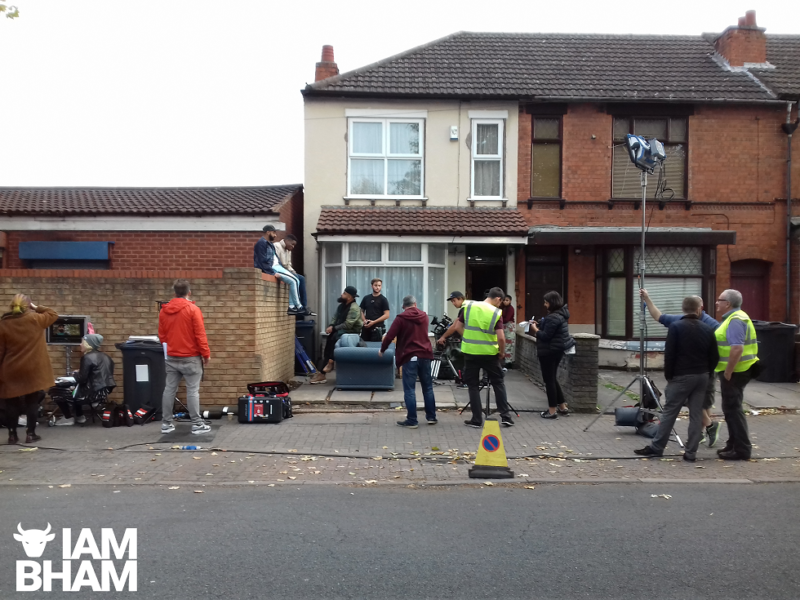 Real Birmingham locations are used for 'Man Like Mobeen', such as Audrey Road in Small Heath here