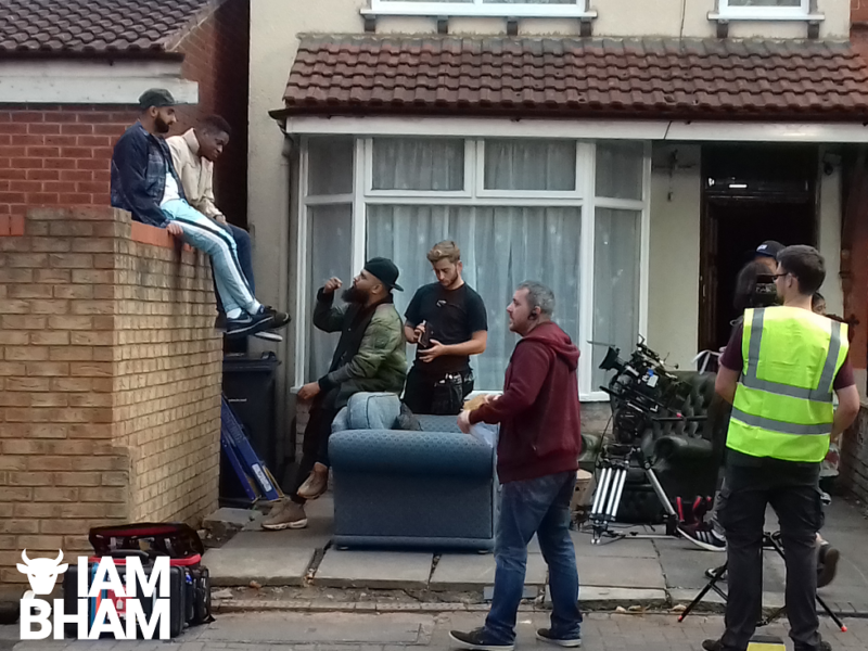 Man Like Mobeen series 2 being filmed in Small Heath, Birmingham