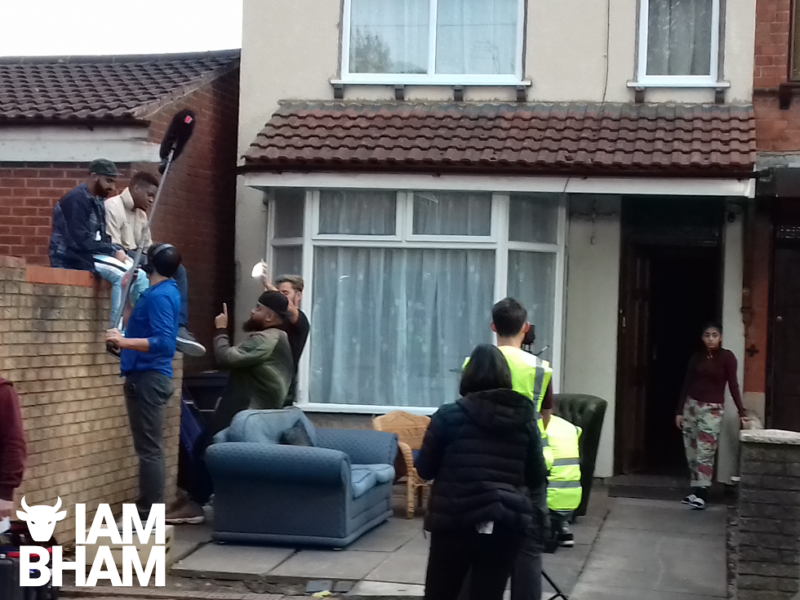 Guz Khan, Tez Ilyas, Tolulope Ogunmefun, and Duaa Karim get into character as filming starts in Small Heath