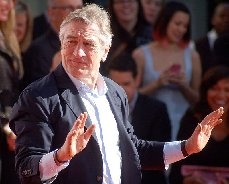 OMG! Robert De Niro is coming to Birmingham next month!