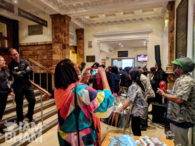The Birmingham Black History Month launch at the city's Town Hall