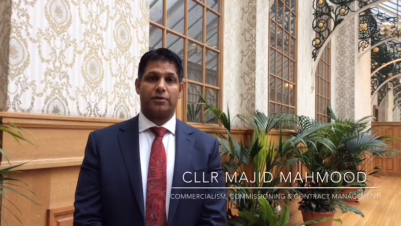 Councillor Majid Mahmood has responded to online complaints following apparent missed refuse collections