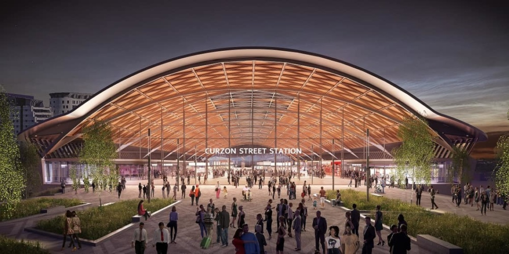 "Birmingham's HS2 Curzon Street Station design branded a ""shed"" by Labour MP Liam Byrne"