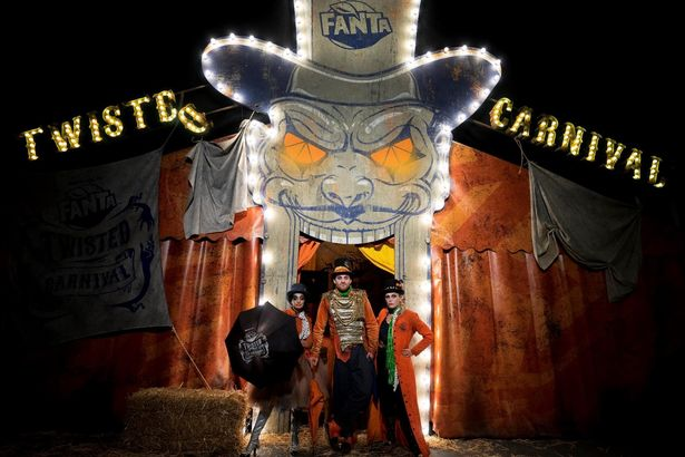 Fanta is bringing its Twisted Carnival to Birmingham's Bullring and Grand Central