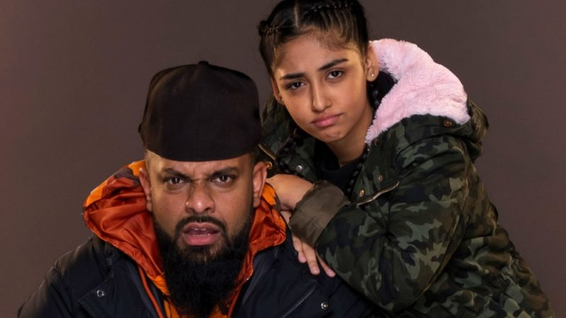 Mobeen lives in Small Heath and looks after his younger sister Aqsa