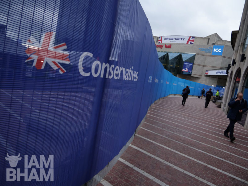 The 2018 Conservative Party conference in Birmingham