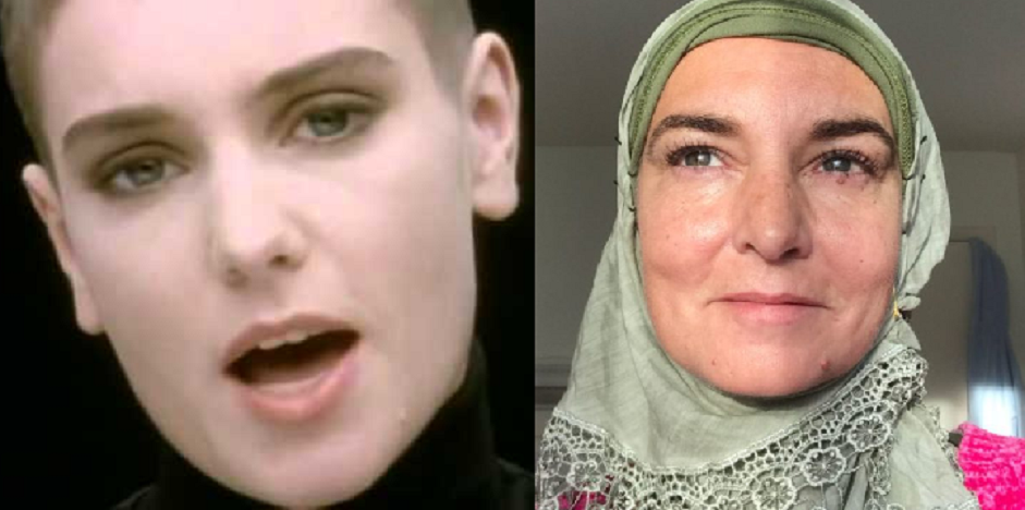 Singer Sinead O'Connor converts to Islam and changes her name