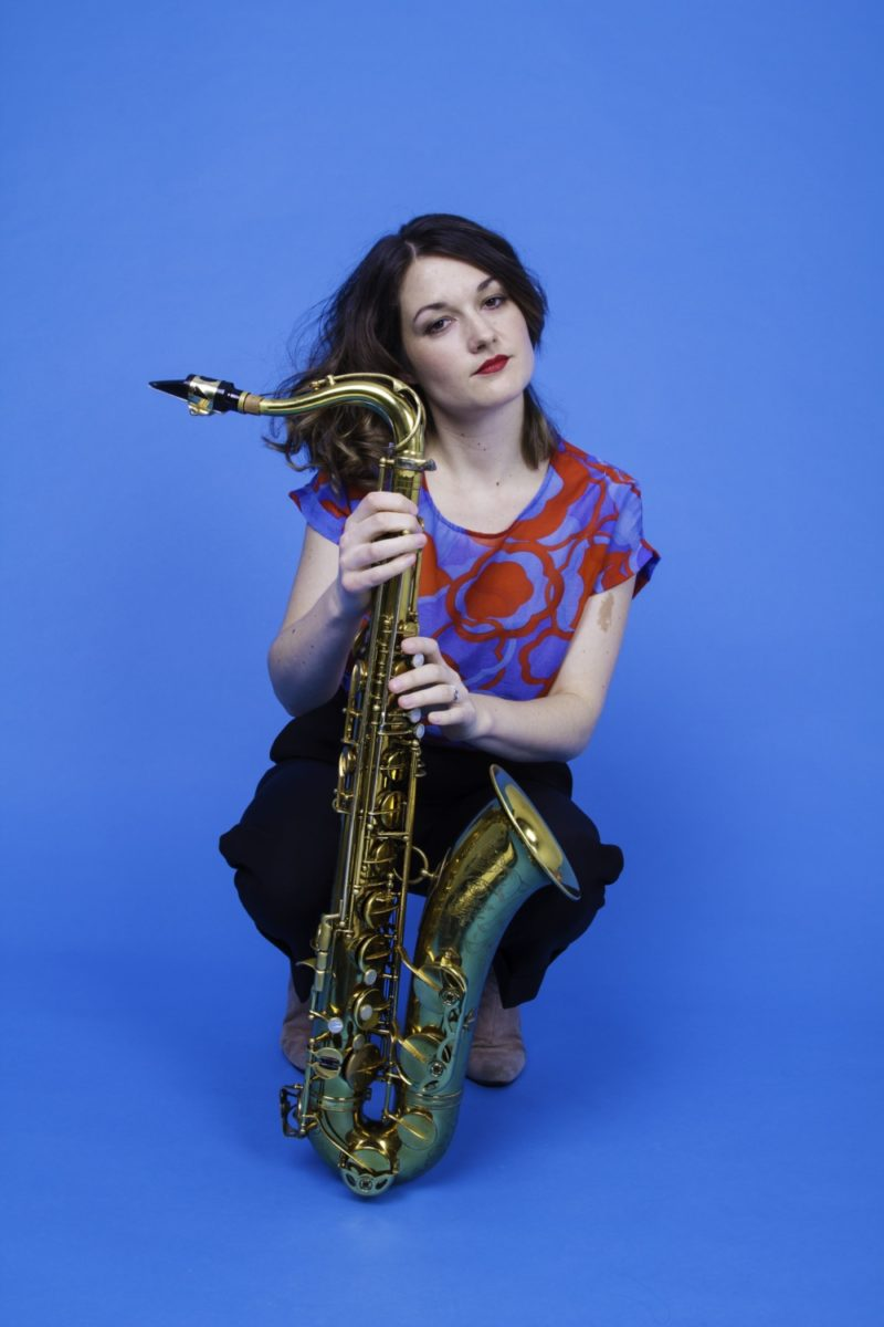 Musician Trish Clowes is one of 50 STEAM scholars at Birmingham City University