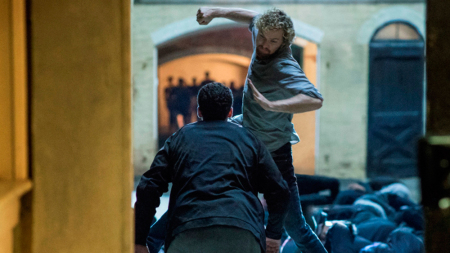 Finn Jones in Marvel's Iron Fist for Netflix