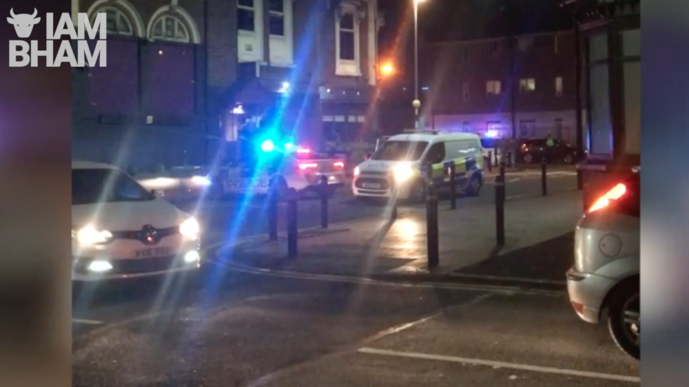 VIDEO: Police on scene in Bearwood following motorbike crash