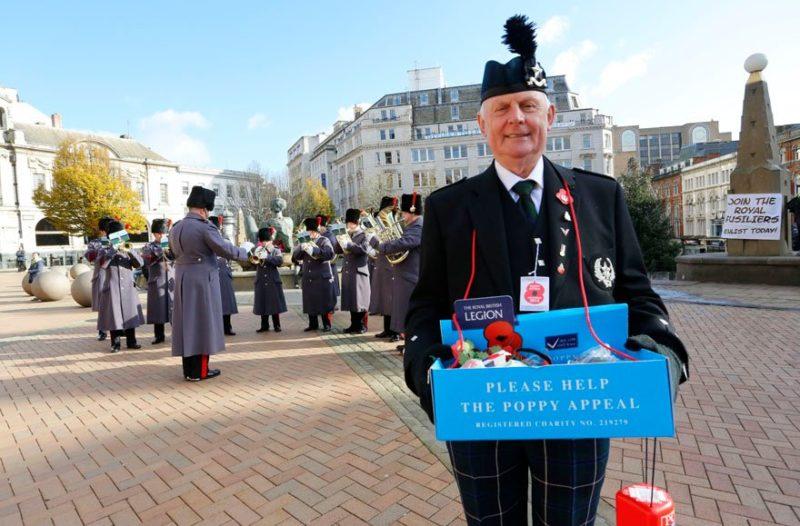 Poppy Day in Birmingham