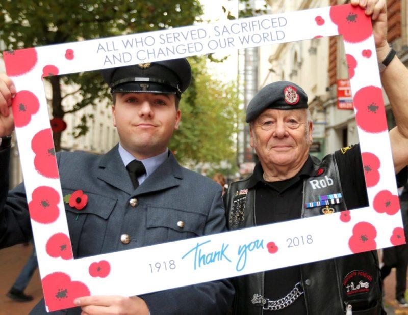 Birmingham Poppy Day RAF Cosford