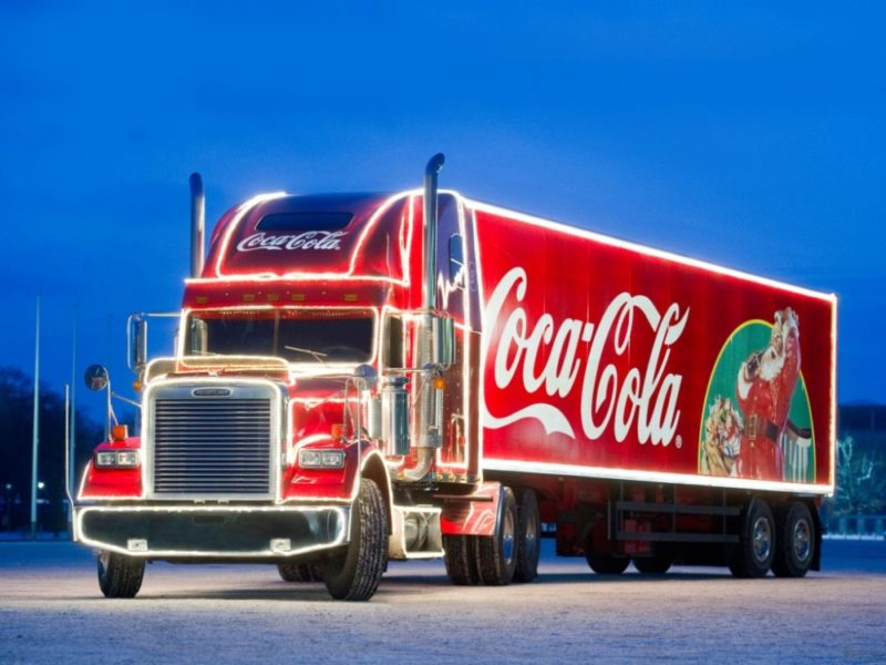 The Coca-Cola Christmas Truck will be making 24 stops around the UK between this weekend and just before Christmas