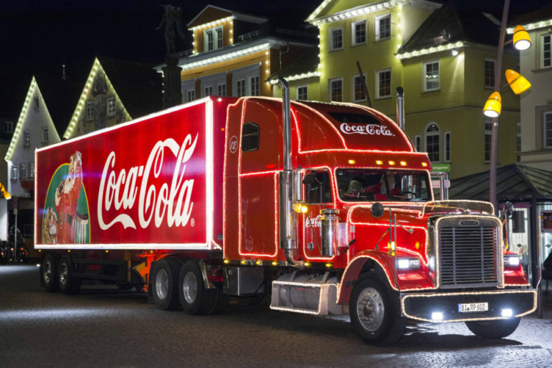 After eight years of making the rounds in the UK, the Coca-Cola Christmas Truck Tour has travelled more than 737,000 miles