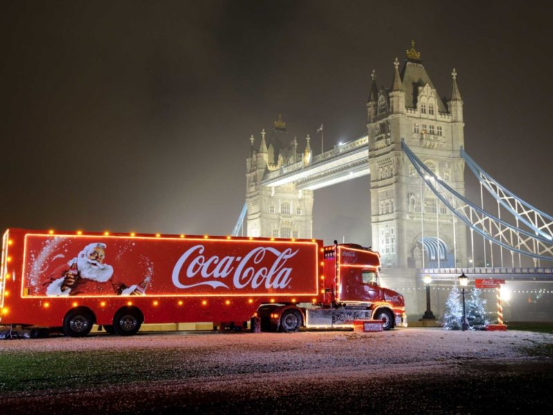 The Coca-Cola Christmas Truck is touring the UK and visits Birmingham city centre over two days, and an additional day in Sutton Coldfield