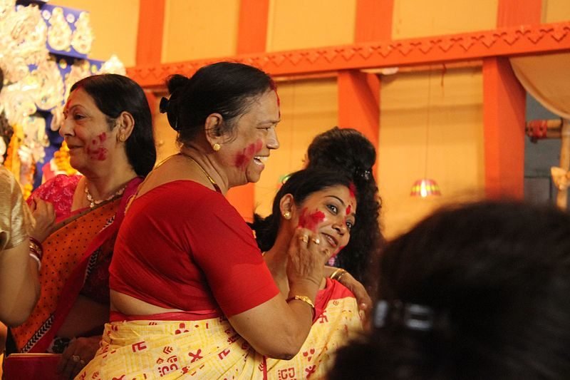 Diwali celebrations include 'Puja' or worship, as well as family time and feasting.