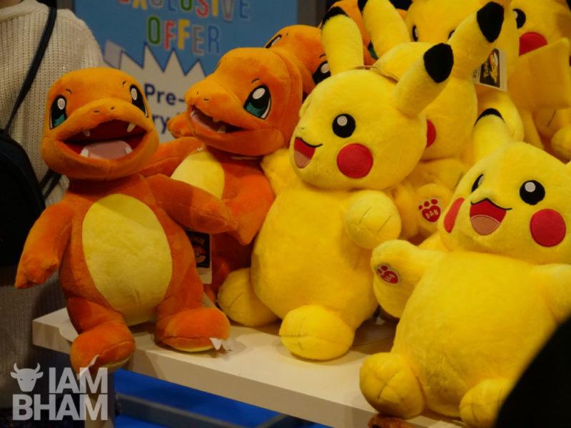 Merch at MCM Comic Con in Birmingham