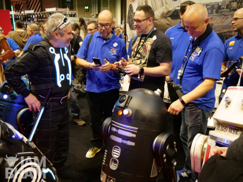 Star Wars team at MCM Comic Con in Birmingham