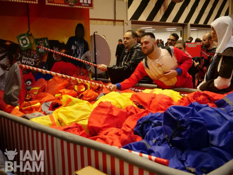 Games at MCM Comic Con in Birmingham