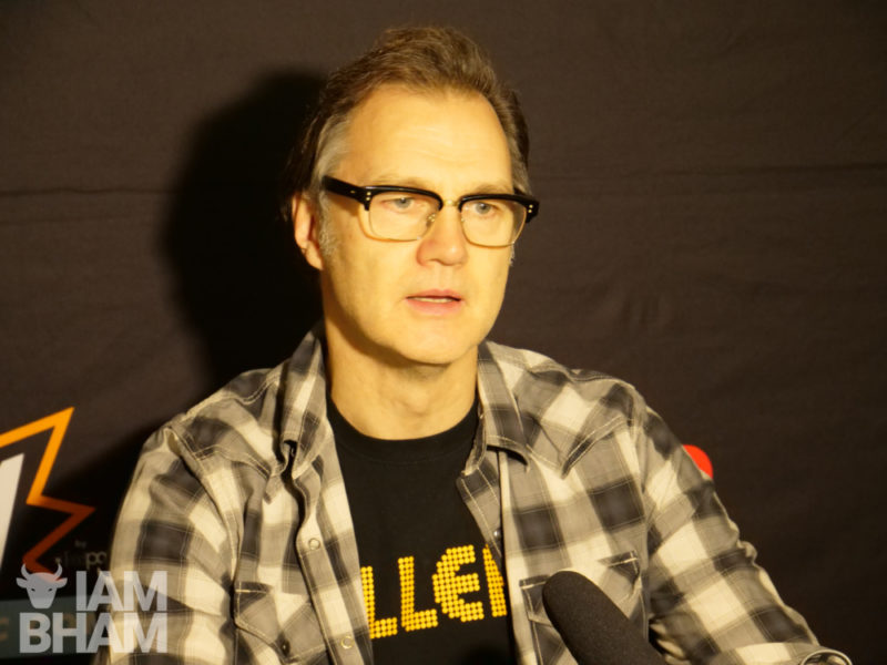 The Walking Dead and Doctor Who star David Morrissey at MCM Comic Con in Birmingham