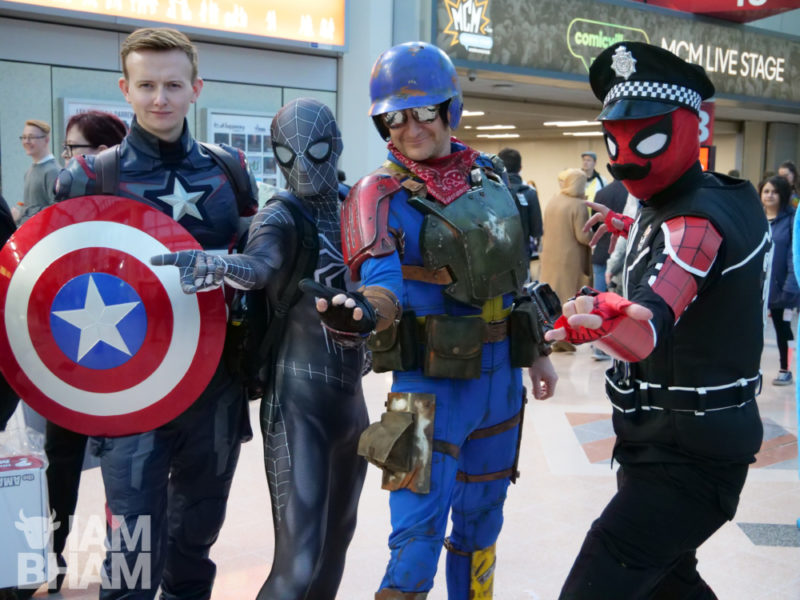Cosplay at MCM Comic Con in Birmingham