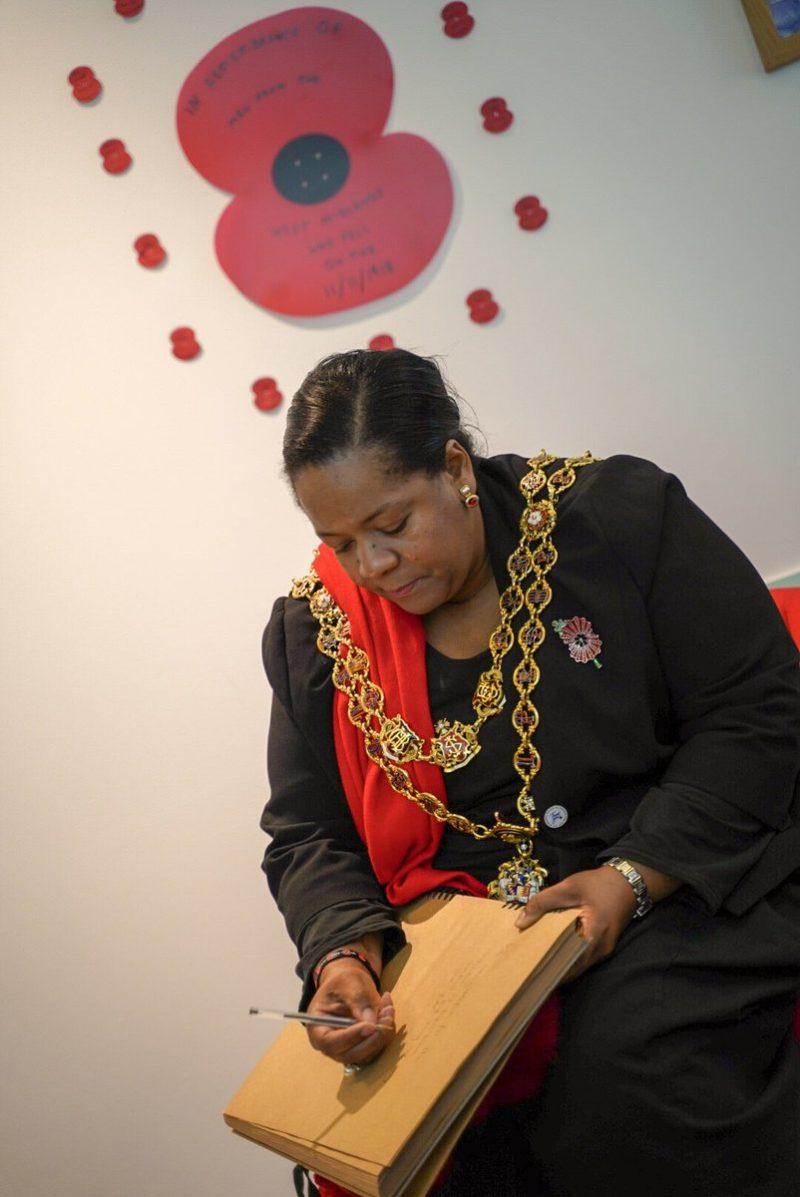 Poppy Day and Lord Mayor in Birmingham by Royal British Legion