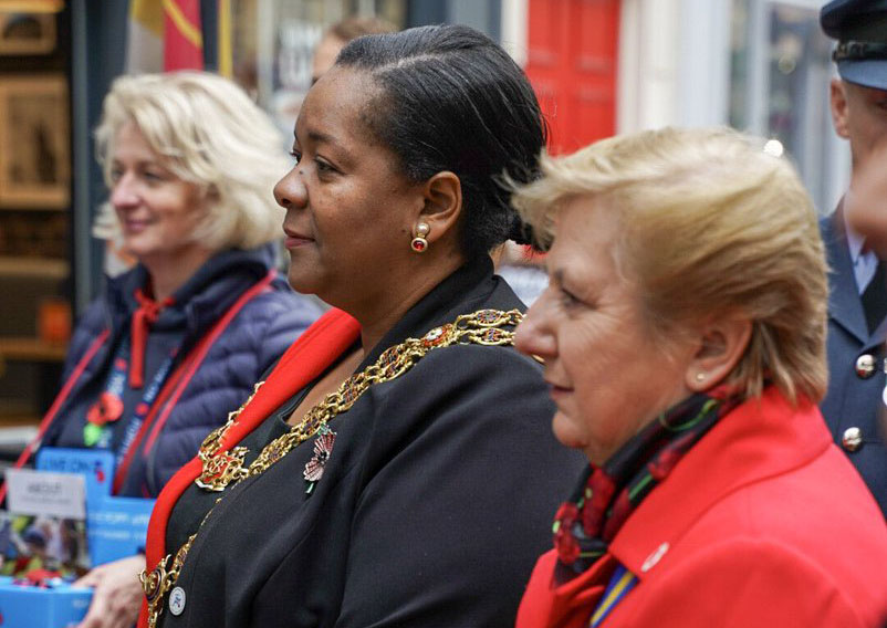 The Lord Mayor of Birmingham, Yvonne Mosquito, will lead the official Day of Remembrance services in Birmingham