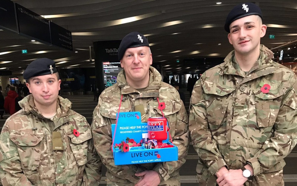 30+ photos of Brummies joining forces for Poppy Day 2018!