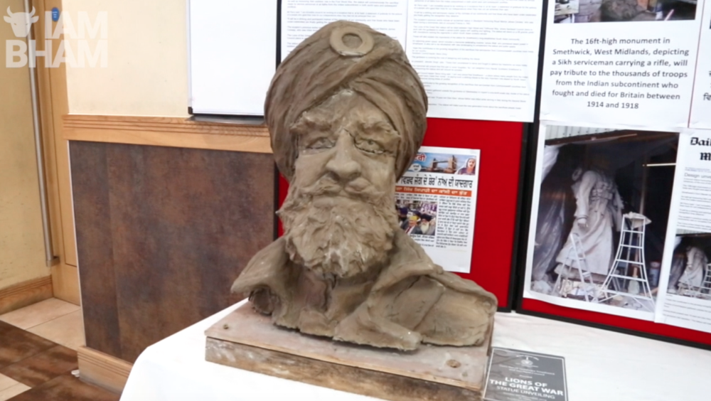 VIDEO: 10ft monument to honour Sikh soldiers who fought during WWI to be unveiled in Smethwick