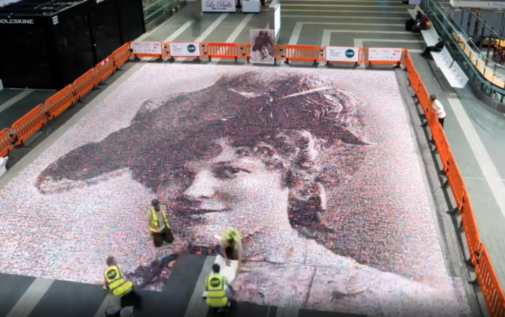 VIDEO: Suffragette mosaic revealed at New Street station in Birmingham